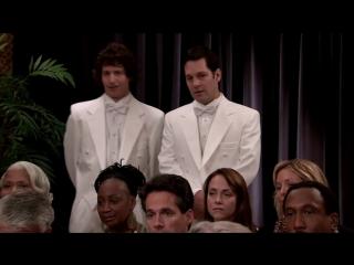 Каждый может критиковать - Everyones A Critic_Пол Радд (Paul Rudd) и Энди Сэмберг (Andy Samberg)_SNL