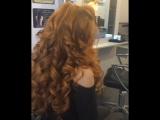 Voluminous curly hair 💁🏼👸🏼💕