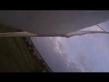 Биплан из потолочки ЛМ-2 борт, сбиваем всякие ростки над головой (авамоделст Олексй Приходько)