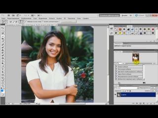 Как заменить фон на фотографии в Photoshop CS6