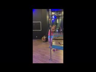 Тренировка pole kids в sky pole