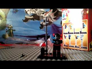 обзор на китайскую фигурку Лего супер герои Флэш смерти от фирмы SY