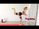 8 упражнений для ЯГОДИЦ и ГАЛИФЕ с резиновым тренажером