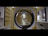 2001 A Space Odyssey - Woman Walks in Circle