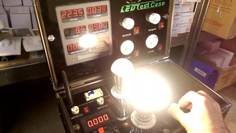 Лампа светодиодная SEOUL диммируемая E27-9W