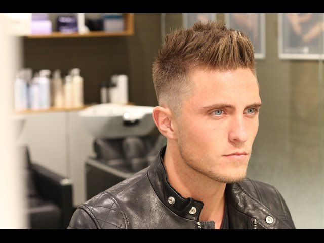Men´s hair inspiration 2016 ° High Fade With Spiky short Hair On Top °