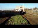 Самодельный трактор самодельный плуг вспашка огорода