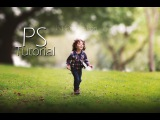 Photoshop Tutorial How to Edit Outdoor Portrait ( Blur Background )