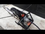 Suzuki Address RS125 HRC первый запуск на дефолтных настройках...