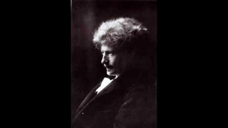 Schumann Das Abends, Aufschwung Op.12 Paderewski 1912