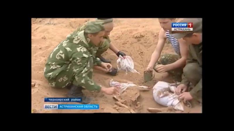 В Астраханской области встретили солдата, который вернулся домой с войны спустя...