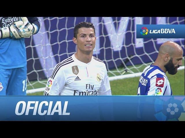 Elástica y caño de Cristiano Ronaldo