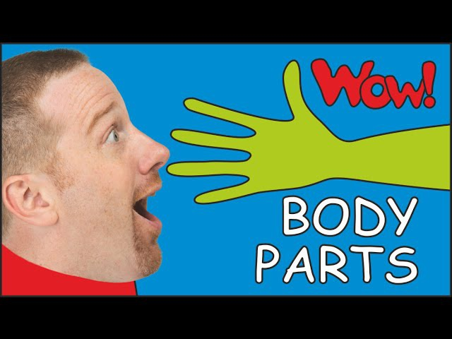 Body Parts for Kids | Dream English with Steve and Maggie in funny English stories