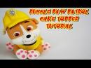 Щенячий патруль RUBBLE PAW PATROL CAKE TOPPER FONDANT - BULL DOG PASTA DI ZUCCHERO TORTA TUTORIAL
