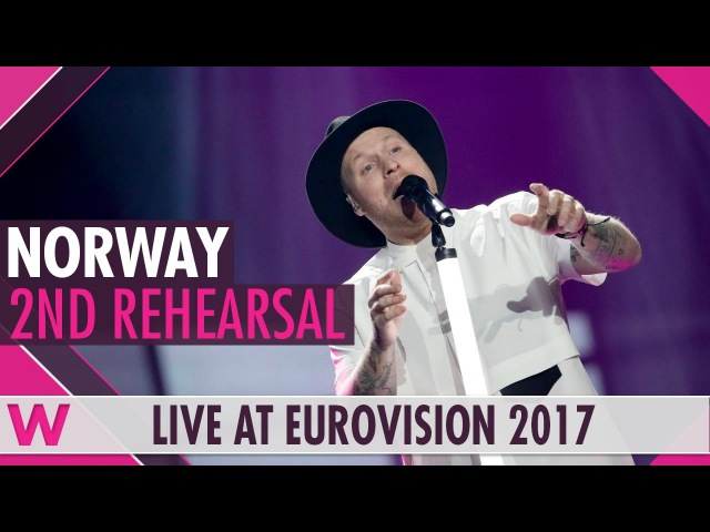 "Second rehearsal: JOWST ""Grab The Moment"" (Norway) Eurovision 2017 