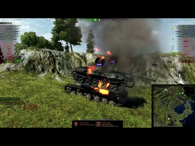 World of Tanks Funny Moments Light Tank