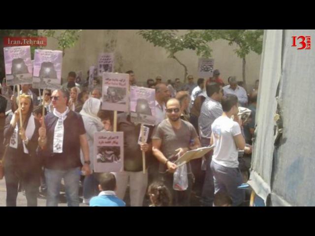 Tehranda saxlanan müxbirimizə güneyli polis komək etdi-ermənilərin genosid aksiyasından reportaj