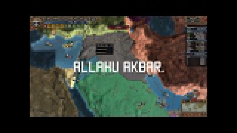 Kailvin, Allahu Akbar and Isreal (Totally not Something anti - Jewish) (EUIV Parody)