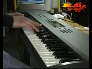 Korg N264 N364 series Demostration by S4K Part2, Keyboard solo ( JORDAN RUDESS STYLE)