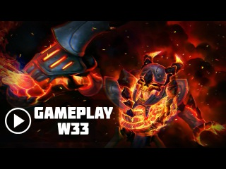 w33 Clinkz ranked gameplay