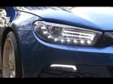 VW Scirocco III - Dectane Scheinwerfer mit Tagfahrlichtoptik DRL
