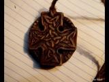 Резьба по дереву. Как сделать кельтский крест. Кельтика. Celtic Cross, wood carving