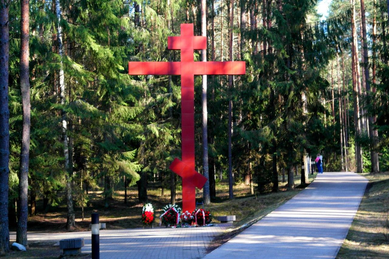 Мемориальный комплекс с крестом Выборг Мемориальный комплекс с крестом Новые Черемушки