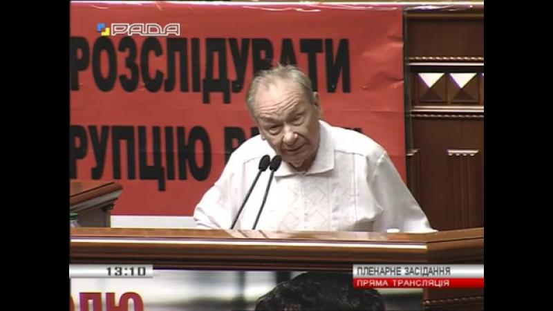 Юрій Шухевич Уряд скасовує податки на пенсії чиновників а у простих людей забирає останню сорочку