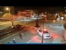 Очень странная авария на железнодорожном переезде