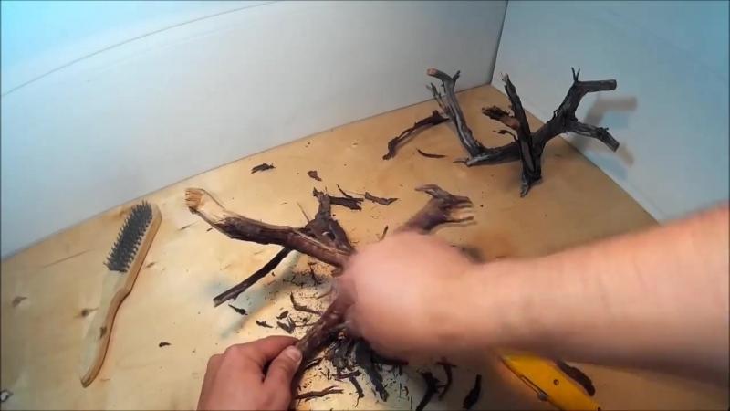 Коряги для аквариума своими руками какая