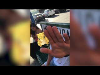 Как со стороны выглядит игрок в Pokemon Go