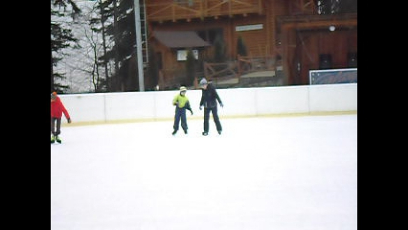 я катаюсь на ковзанах