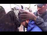 Опубликовано видео задержания ФСБ брата организатора теракта в Петербурге