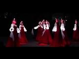 Русский народный танец девушек в светящихся платьях! Невероятно красиво_HD.