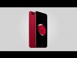 Первый обзор красного iPhone 7