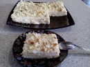 Торт Наполеон с заварным кремом Быстрый Наполеон из готового слоёного теста