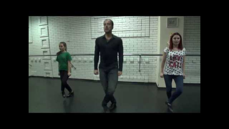Видеоурок Ирландского степа. Dance Cafe.