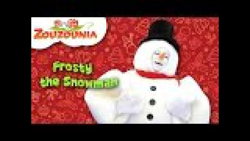 Frosty the Snowman | Zouzounia feat. Anna Rose Amanda | Christmas Songs for kids