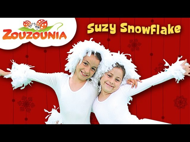 Suzy Snowflake | Zouzounia feat. Anna Rose Amanda | Christmas Songs for kids