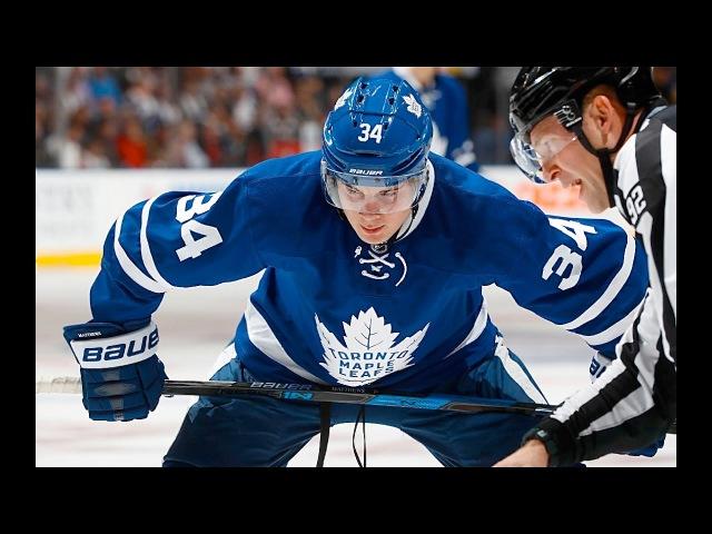 Turbo Scorer: Auston Matthews 2016-17 Highlights (*Includes 1st NHL 4 Goal Game) - TML (HD)