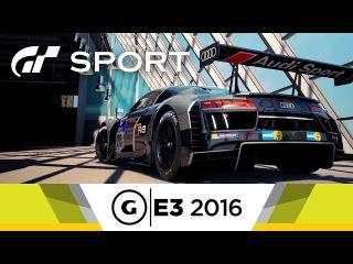 8 минут геймплея Gran Turismo Sport