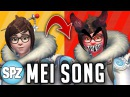 """OVERWATCH MEI SONG """"COLDER"""" (The Chainsmokers Closer Parody)"""