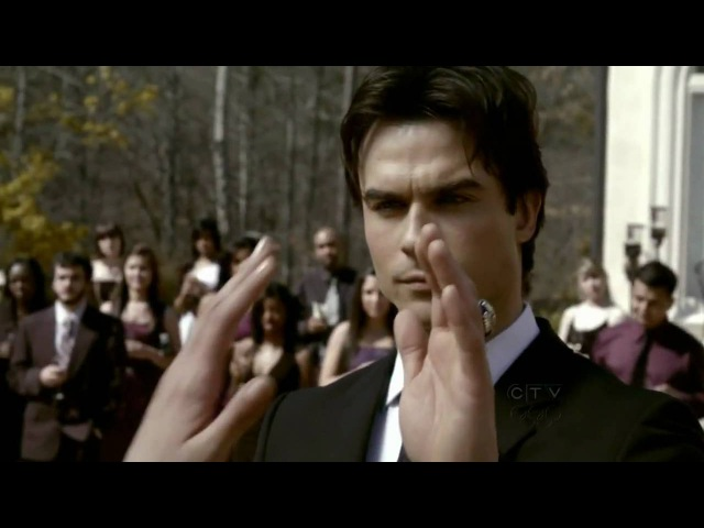 The Vampire Diaries S01E19 HD 720p The dance by Elena and Damon.