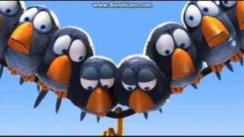 Смешной мультик про птичку