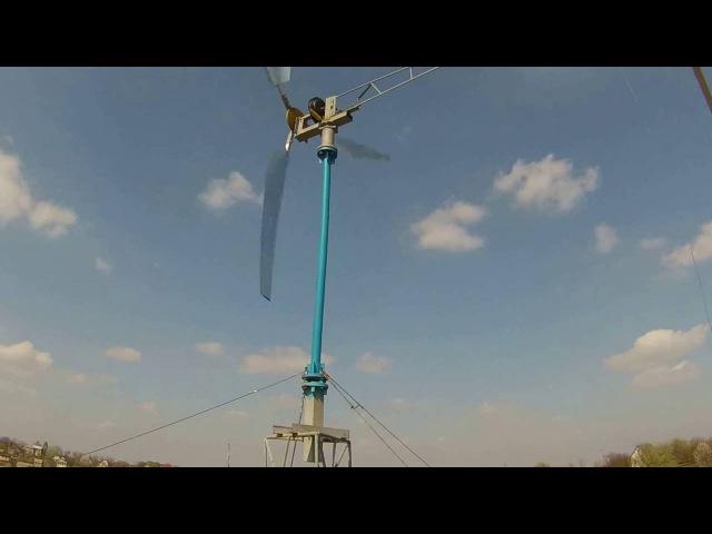 Ветрогенератор мотор колесо