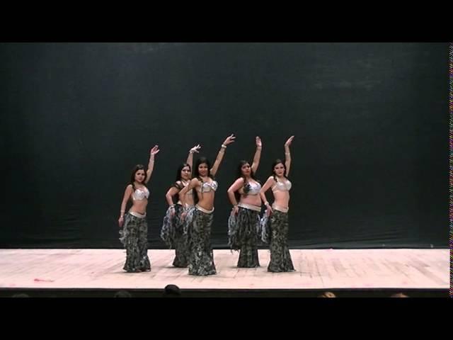 BellyDance Ballet Bazan Percusión Moderna