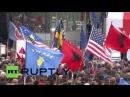 Сербия: Косово оппозиции протестуют против соглашения с Сербией и Черногорией.