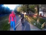Аниматоры Москвы Супергерой Человек Паук Супермен и Женщина Кошка