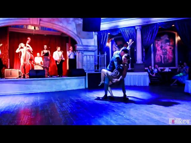 Alexey Kazenov Natalia Borisenko Lindy-hop Social @ 6th Anniversary Dance School Shtrih-Kot
