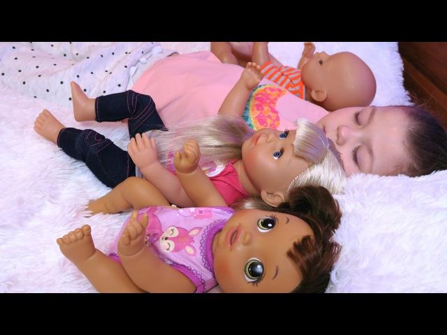 ВРЕДНЫЕ ДЕТКИ КУКЛЫ БЕБИ БОН Играем в дочки матери Кукла Беби борн для детей Мул ...